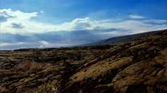 4K Timelapse, Chain Of Craters Road, Big Island, Hawaii, USA Stock Footage