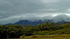4K Timelapse, Kualoa Regional Park, Oahu, Hawaii Stock Footage