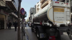 Shopping Street Hamra in Beirut, Lebanon Stock Footage