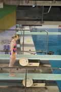 Stock Photo of World class divers compete at the Canada Cup in Gatineau in April 2016
