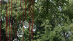 Wedding decor in nature Stock Footage
