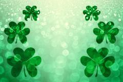 St Patricks Day Background - stock photo
