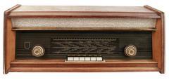 Radio Tuner Cutout Stock Photos