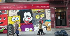 New York City Street Art 4K Stock Video Stock Footage