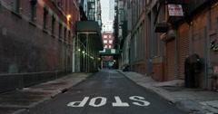 Chinatown Street in Manhattan New York 4K Stock Video Stock Footage