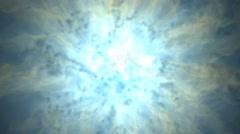 Energy vortex animated motion background Stock Footage