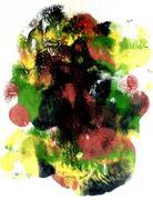 Multi Colored Acrylics Texture - stock illustration