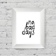 "Motivational poster ""small steps every day"" in the art wooden frame on on whi Stock Illustration"