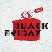 Stock Illustration of Black Friday sales Advertising Poster. Easy editing.