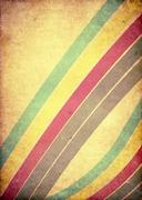 Retro style music grunge background. Old paper texture - stock photo