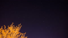 Movement of stars time Lapse 4K Stock Footage
