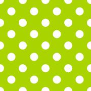 Seamless polka dot pattern Stock Illustration