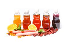 Fresh juice detox - stock photo
