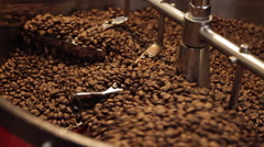 Coffee Bean Stir Finished - stock footage
