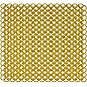 Gold chain armor background Stock Illustration