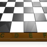 Macro chess board Stock Illustration