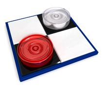 Mini checkers Stock Illustration