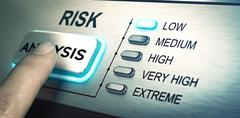 Risks analyze, low risk Piirros