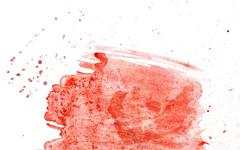 Red Paint Background - stock illustration