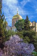 Orthodox Gorny convent, Ein Kerem, Jerusalem Stock Photos