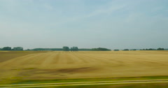 Wheat field agriculture France Stock Footage