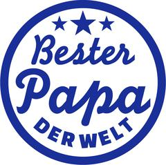 Best Dad of the world German Stock Illustration