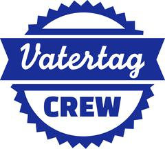 Fathersday Crew Emblem - stock illustration