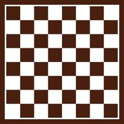 Checkerboard - stock illustration