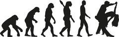Stock Illustration of Evolution couple dance