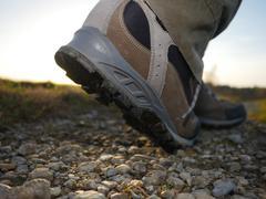 Hiking trekking boots outdoors Kuvituskuvat