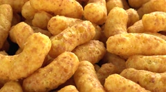 Peanut Puffs (4K, not loopable) Stock Footage