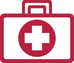 First Aid Kit - stock illustration