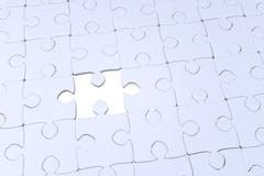 jigsaw puzzle - stock illustration