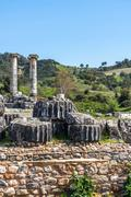 Stock Photo of Greek Temple of Artemis near Ephesus and Sardis