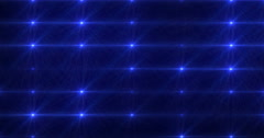 Stage Light Optical Flares Blue Event Club Visual 4K Stock Footage