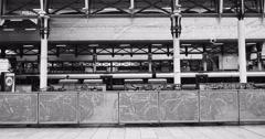 London Train station Stock Footage