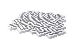Maze - stock illustration