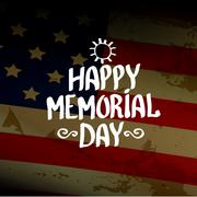 Stock Illustration of Happy Memorial Day