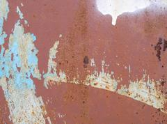 Rusty texture. Old metal abstract background - stock photo