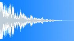 Trailer Attack Hit (Bash, Powerful, Drum) - sound effect