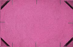 pink pressed cardboard background - stock photo