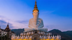 Wat Pha Sorn Kaew Temple Landmark Travel Place Of Phetchabun, Thailand Stock Footage