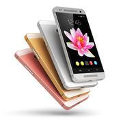 Modern touchscreen smartphones Stock Illustration