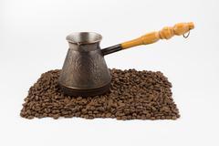 Turk for coffee Stock Photos