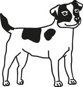 Jack Russell Terrier Stock Illustration