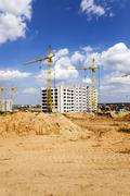 Construction of the building Stock Photos