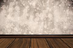 Composite image of close-up of wooden flooring - stock illustration