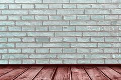 Composite image of wooden planks - stock illustration