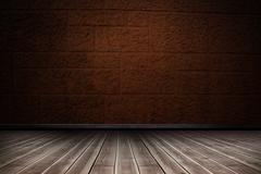 Composite image of close-up of wooden flooring Stock Illustration