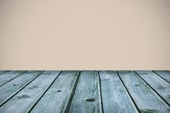 Composite image of wooden planks Stock Illustration